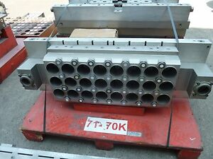 Tool  Mold cup diameter 71mm x 24 cavity with stacker for ILLIG RDM 70K