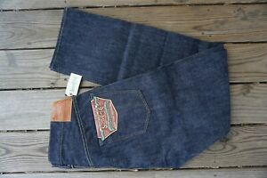 SUGAR CANE 1947 JEANS NWT MADE IN JAPAN UNWASHED RAW SELVEDGE  36X34