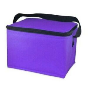 EasyLunchboxes Insulated Lunch Box Cooler Bag Purple