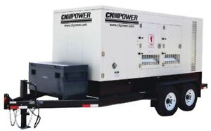 NEW CK Power 200kW Generator CKT250-T4 Final Tier 4 Mobile Rental Power
