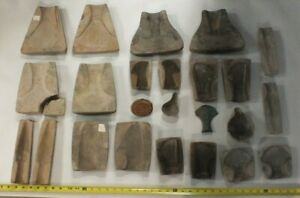 Large Ban Chiang Collection Bronze Weapon Molds & Pottery Lot MS83