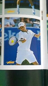 RARE - Roger Federer ROOKIE RC - Tennis Magazine 2000 - Mint - 1st Ever Sticker