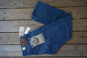 RRL RALPH LAUREN NWT MADE IN USA SLIM FIT SELVEDG DENIM FAIRVIEW WASH SZ 36X32