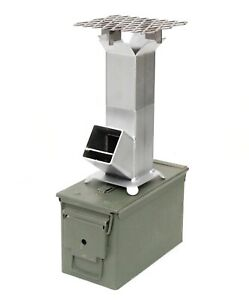 Rocket Stove Ammo Can 50cal and Barbecue - PRICE DROP!!
