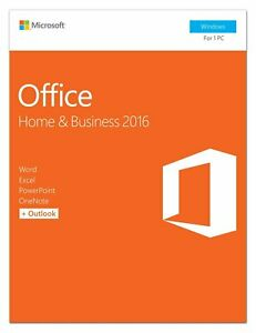 Microsoft Office Home and Business 2016 PKC Pack T5D-02776