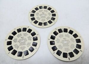 View Master 962 A B C The Lone Ranger in Mystery Rustler 1956 Set of 3 Reels $9.95