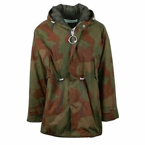 NWT OFF WHITE co VIRGIL ABLOH 'Fishtail Parka Camo' Hooded Parka Jacket L $2840