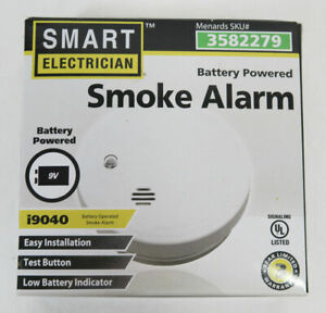 Smart Electrician i9040 Battery Powered Smoke Alarm
