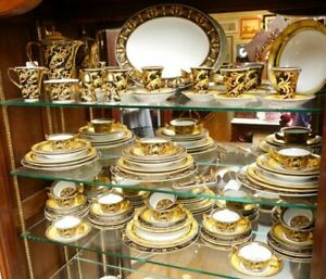 8 Place Setting Rosenthal Versace Barocco Dinnerware Perfect Gift!