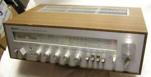 SUPERB YAMAHA NATURAL SOUND CR-800 AM-FM RECEIVER AMPLIFIER AMP ! NICE ! WORKS !