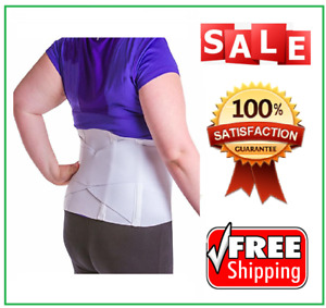 Women's Back Brace for Female Lower Back Pain Treatment Lumbar Support (2XL)