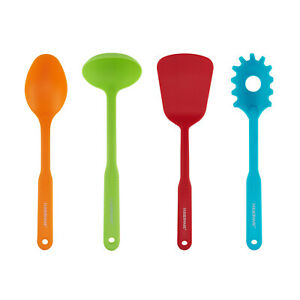 BRAND NEW Faberware Color Series Set of 4 Nylon Cooking Tools