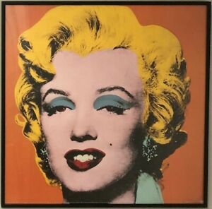 Marylin Monroe prints by Andy Warhol beautifully framed in perfect condition.