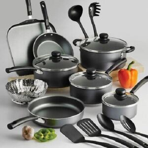 COOKING NON STICK Pots and Pans amp; Lids 18 Piece Cookware Set Nonstick Tramontina $52.95