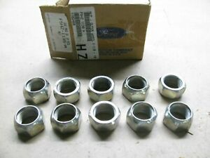 (x10) OEM Ford Med Heavy Duty Truck 1-18 - 16 Lug Nuts F5HZ-1135-A