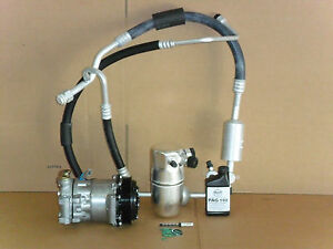 NEW AC COMPRESSOR KIT 1996-1999 CHEVROLET SUBURBAN  TAHOE 5.7 WITH REAR AC