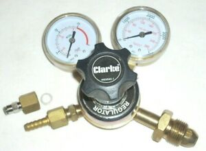 Clarke WE6540 Argon Regulator Argon/CO2 Mix Mig Tig Welding Gas CGA 580
