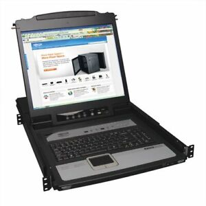 Tripp Lite B020-u08-19-ip Rackmount Lcd Built-in Kvm Switch - 8 Computer(s) -