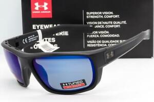 NEW UNDER ARMOUR LAUNCH SUNGLASSES BlackOffshore Tuned Blue Polarized Fishing