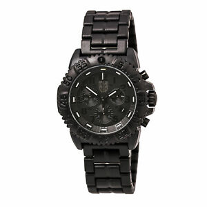 Luminox Men's Watch Navy Seal Colormark Chronograph Black Dial Bracelet 3082.BO