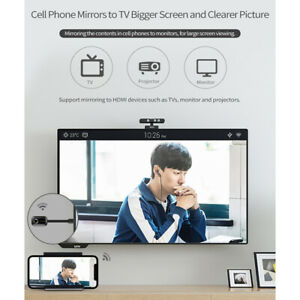 WiFi Display Receiver Miracast TV Dongle DLNA Airplay HD 1080P Screen Mirroring