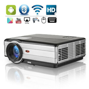 Multimedia LCD LED Home Theater Projector 1080P Movie Game Video HDMI USB VGA