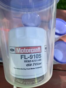Motorcraft Oil Filter Canister Each FL910S