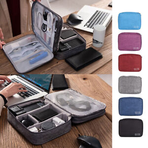 Travel Cable Organizer Accessories Gadget Bag Portable USB Charger Case Storage $9.98