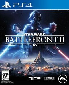 PLAYSTATION 4 PS4 VIDEO GAME STAR WARS BATTLEFRONT II 2 BRAND NEW AND SEALED