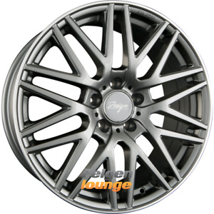 4 Alloy Wheels Z Design Wheels Z001 Grey Lip Polished 8x18 ET45 5x112 666 New