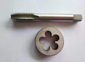 New 1pcs HSS 3 8 27 Right Tap and 1pcs 3 8 27 Right Die Threading Tool $9.99