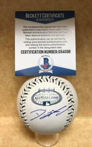 DAN HAREN SIGNED UNDER LOGO 2008 ALL STAR BASEBALL BECKETT G94096 $59.99
