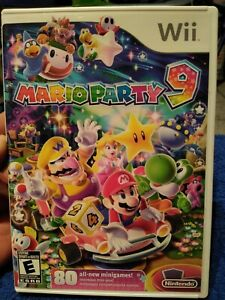 Mario Party 9 (Nintendo Wii 2012) (W manual)