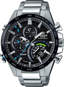 Casio Men Edifice Bluetooth Smartphone Link Tough Solar Watch EQB501XDB-1A