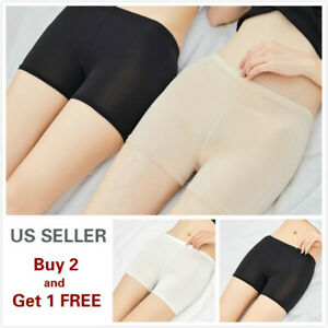 Women Stretch Safety Under Shorts Seamless Leggings Pants Skirt Dress $4.99