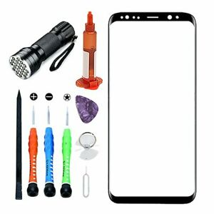 For Samsung Galaxy S8 Plus OEM Replacement Front Screen Glass Lens Repair Kits