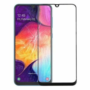 Black For Samsung Galaxy A50 A30 M30 Front Outer Glass Screen Lens Replacement