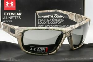 NEW UNDER ARMOUR LAUNCH SUNGLASSES Realtree Camo frameGrey lens ANSI Z87.1
