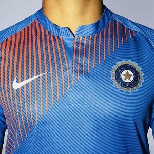 NWT Original Nike India ODI T20 World CUP Cricket Jersey T-Shirt Dri-Fit Size ML