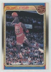 1988 89 Fleer Michael Jordan #120 HOF
