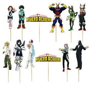 MY HERO ACADEMIA CAKE TOPPER TOPPERS CUPCAKE BALLOON SUPPLIES DECORATIONS