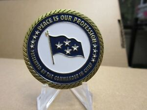 US Strategic Command USSTRATCOM  Commander in Chief Challenge Coin #328B