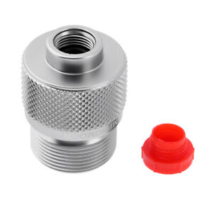 Camping Propane Tank Gas Refill Adapter Filling Canister Cylinder Fitting