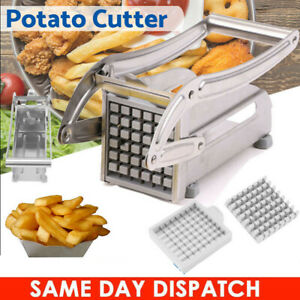 Stainless Steel Plated Potato French Fry Chipper Chips Cutter 3664 Hole Cutter