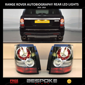 REAR LED TAIL BACK LIGHTS UPGRADE PAIR FOR RANGE ROVER SPORT 2005 2013 GBP 219.89