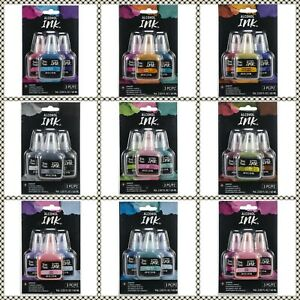 New In Package- Brea Reese Alcohol Inks (3-pack) 20 ml bottles- YOU CHOOSE