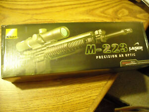Nikon M-223 2.5-10x40 Rifle Scope with laser range finder