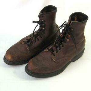 Red Wing Lace Up Leather Work Boots 953 Size 10.5 A