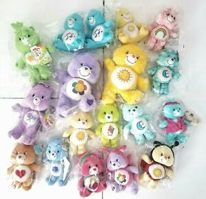 Cleaned Care Bears LOT OF 18 Including Special Edition Bears with Tags