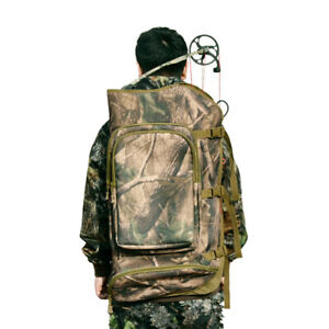 Outdoor Hunting Compound Bow Backpack Archery Bag Archery Bow Pouch - Camo